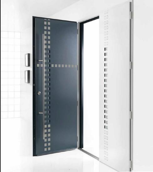 Portes d 39 entr e en aluminium bulgn ville vosges vittel for Porte entree lapeyre alu