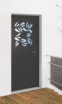 portes d 39 entr e alu k line fabrication fran aise. Black Bedroom Furniture Sets. Home Design Ideas